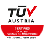 TUV NORD ISO-9001 Certificate